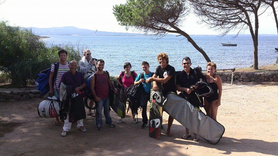 Kite Camp Sardegna: Vacanza kitesurf a Cagliari in Sardegna