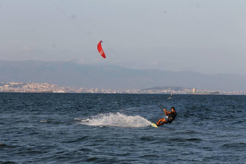 Kitesurf petrol Beach Cagliari, Sardegna