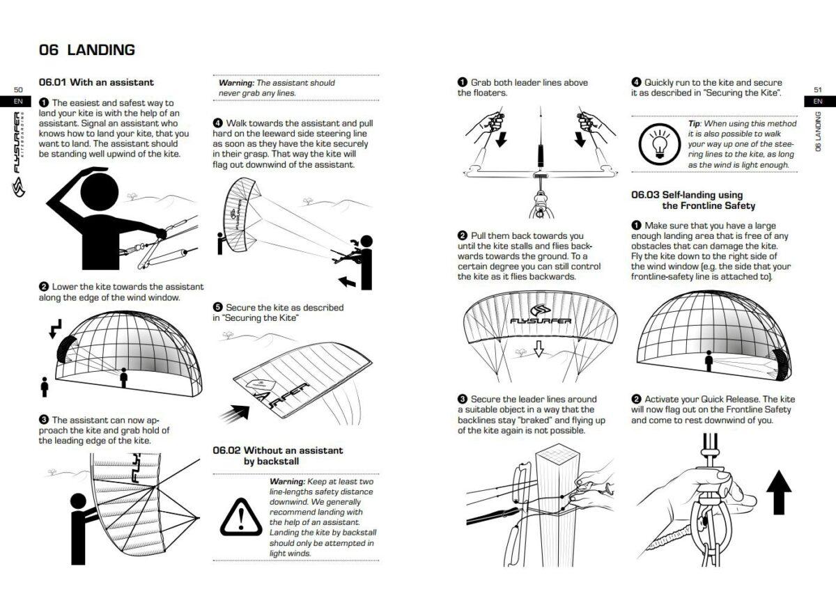 Manuale kitesurf   Manuale kite imparare il kitesurf