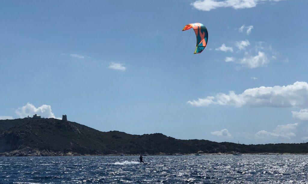 Kitesurf a Villasimius in Sardegna